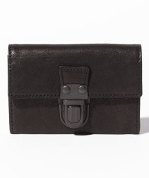 PATRICK STEPHAN/Leather card case 'cartable'/501937049