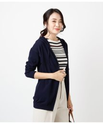 NEWYORKER/Comfortable Knit Parker/ニットロングパーカ/501937112