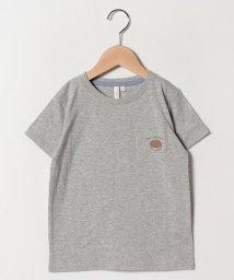 LAGOM/おやつプリントポケットTシャツ/501938539