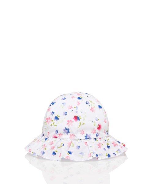 BENETTON (UNITED COLORS OF BENETTON GIRLS)(ユナイテッド カラーズ オブ ベネトン ガールズ)/総柄リボンハット・帽子/19P6EZ8B423R