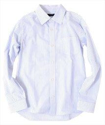 GLAZOS/チェック&ストライプ柄ドレスシャツ/501948640