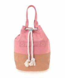 Jocomomola/キャンパス巾着型バッグ/501950500