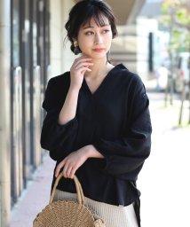 Bou Jeloud/◆ビッグシルエットが可愛い◆抜け衿ゆるカラービッグシャツ/501951874