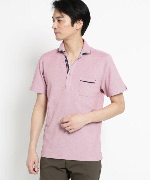 THE SHOP TK(ザ ショップ ティーケー)/【親子おそろい】パイピングポロシャツ/20190161636701