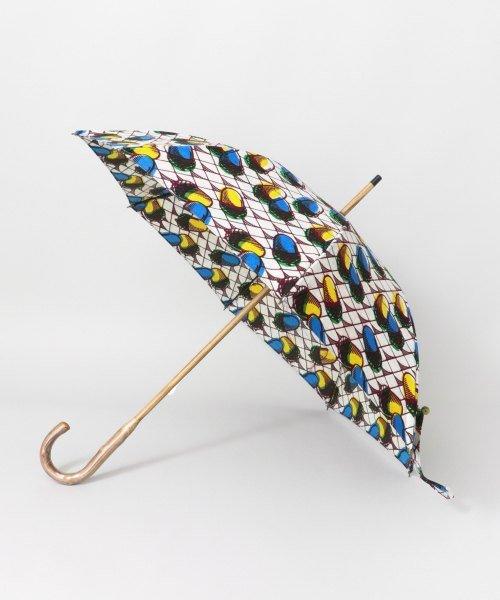 KAGURE(かぐれ(キッズ))/アフリカンスクエア 別注パーニュ日傘どんぐり/10101-1901-KL95