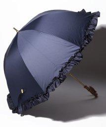 pink trick/完全遮光 晴雨兼用 長傘 フリル 遮光率100% 遮蔽率100% 1級遮光 遮熱 軽量 UVカット/501896948