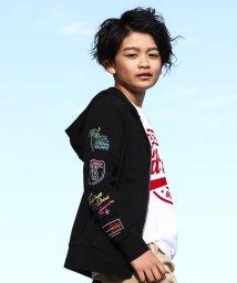 RAD CUSTOM/【カタログ掲載】天竺カラー刺繍パーカー/501926557
