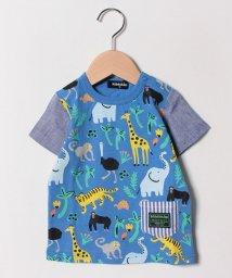 kladskap/アニマル総柄Tシャツ/501942003