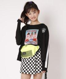 Lovetoxic/GIRL転写プリントTシャツ/501942005