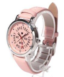 Lovetoxic/ロゴ型押し腕時計/501942024