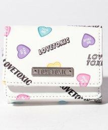 Lovetoxic/ハート柄3折り財布/501945328