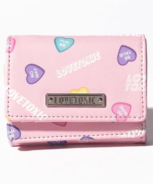 Lovetoxic(ラブトキシック)/ハート柄3折り財布/8391464