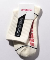 Lovetoxic/テープクルーソックス/501945336