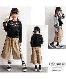 RiCO SUCRE/サイドラインワイドパンツ/501948069