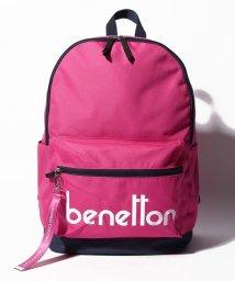 BENETTON (women)/背面ファスナー付きロゴDパックリュック・バックパック/501948594