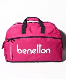 BENETTON (women)/ベネトンロゴボストンバッグ/501948595