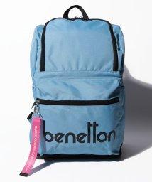 BENETTON (women)/背面ファスナー付きロゴDパックフロントファスナーリュック・バックパック/501948596