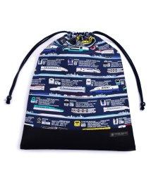 COLORFUL CANDY STYLE/巾着 大 体操服袋(ネームタグ付き) JR公認:出発進行スーパーエクスプレス /501948875