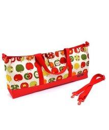 COLORFUL CANDY STYLE/鍵盤ハーモニカケース スタンダード おしゃれリンゴのひみつ(アイボリー)/501948895