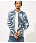 AZUL by moussy/STRIPE RELAX SHIRT/501953800