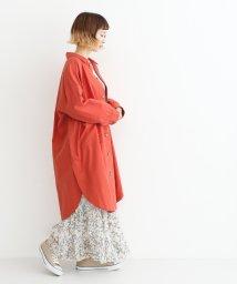 merlot/コットンリネンビックポケットジャケット/501954561