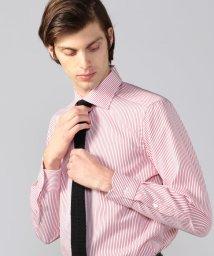TOMORROWLAND MENS/120/2コットンピケ ワイドカラー ドレスシャツ NEW WIDE-5/501955154