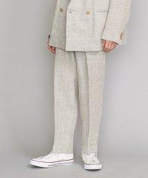 BEAUTY&YOUTH UNITED ARROWS/<TUBE> LINEN TUCK PANTS/パンツ/501955218