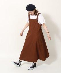coen/綿麻ジャンパースカート/501955491