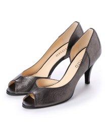 UNTITLED shoes/アンタイトル シューズ UNTITLED shoes オープントゥパンプス (ブラックメタリック)/501955827