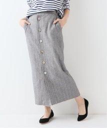 SLOBE IENA/ヘリンボーンツイードタイトスカート/501955967