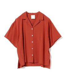 Ray BEAMS/Ray BEAMS / オープンカラー ビッグシャツ/501624303