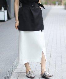 NOBLE/ツイカ ボタントラペーズ スカート2◆/501817170