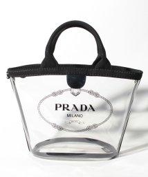 PRADA/【PRADA】2WAYハンドバッグ/PLEX CANAPA【NERO】/501894596