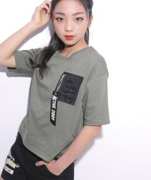 ZIDDY/【カタログ掲載】天竺MA-1ポケット付きTシャツ/501909606
