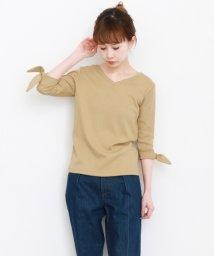 URBAN RESEARCH/【KBF】リボンスリーブ2WAYTシャツ/501931778