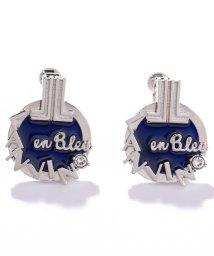 LANVIN en Bleu(JEWELRY)/セサンパ ロゴホワイトイヤリング/501933704