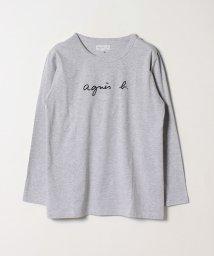 agnes b. FEMME/SBU6 TS ロゴTシャツ/501946170