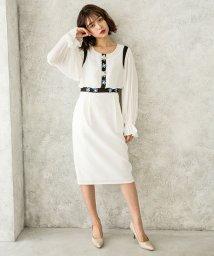 Millon Carats/花モチーフビジューワンピース[DRESS/ドレス]/501948081