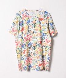 agnes b. HOMME/JEJ8 TS フラワープリントTシャツ/501948177