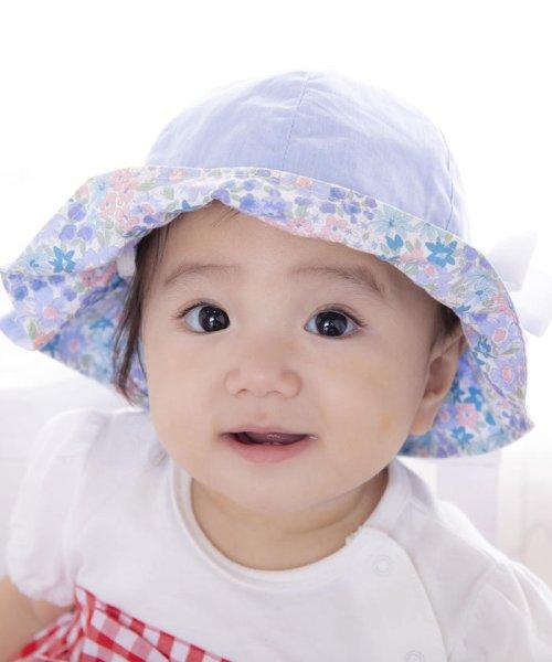 e-baby(イーベビー)/シャンブレーフラワープリントチューリップハット/183412571