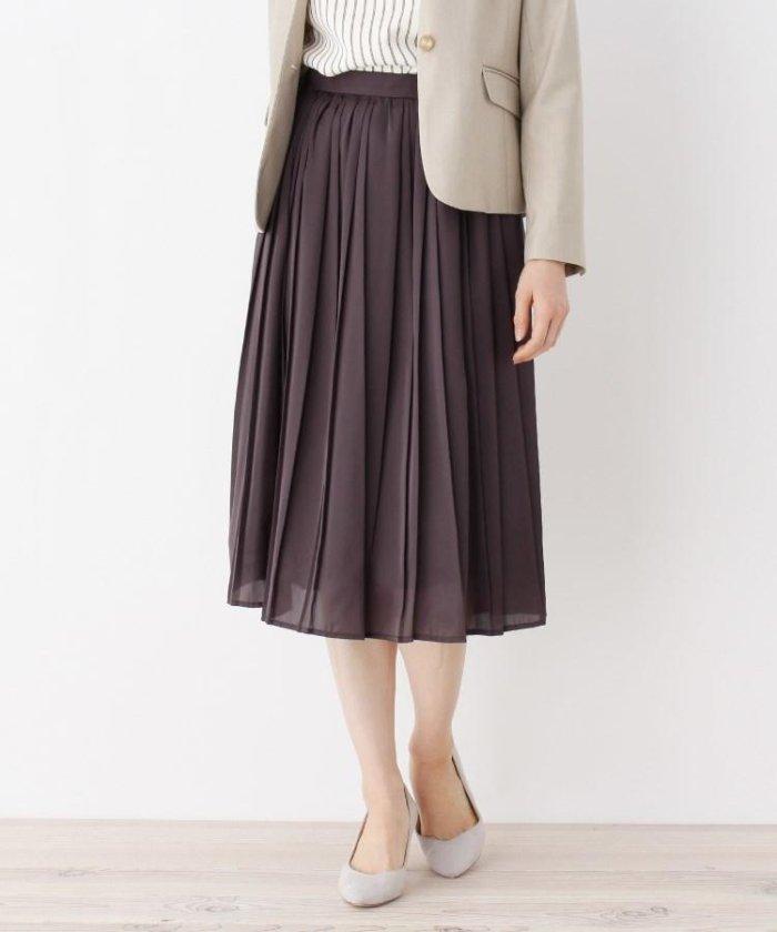 【洗える】イレギュラープリーツスカート