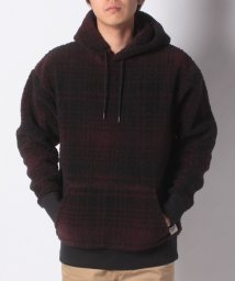LEVI'S MEN/OVERSIZED SHERPA HOODIE SERVAL MULLED WI/501933653