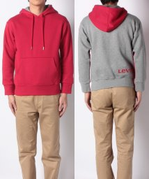 LEVI'S MEN/THE COLOUR BLOCK HOODIE RED FRONT / HEAT/501933680