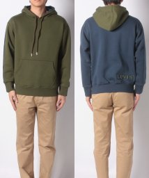 LEVI'S MEN/THE COLOUR BLOCK HOODIE OLIVE GREEN FRON/501933681