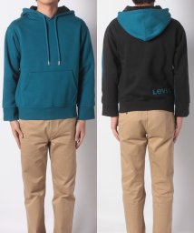 LEVI'S MEN/THE COLOUR BLOCK HOODIE SKY BLUE FRONT //501933682