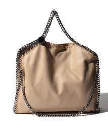 Stella McCartney/【STELLA McCARTNEY】トートバッグ/3 CHAIN SHAGGY DEER FALABELLA【CLOTTED CREAM】/501940193