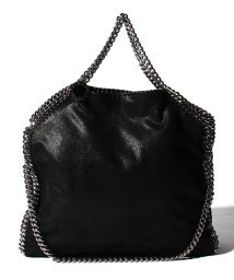 Stella McCartney/【STELLA McCARTNEY】トートバッグ/3 CHAIN SHAGGY DEER FALABELLA【BLACK】/501941452
