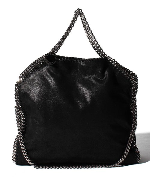 Stella McCartney(ステラマッカートニー)/【STELLA McCARTNEY】トートバッグ/3 CHAIN SHAGGY DEER FALABELLA【BLACK】/234387W91321000