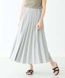BEAMS OUTLET/Demi-Luxe BEAMS / リネンライク プリーツスカート/501944924