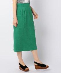 fredy emue/リネンライク ミディポケットタイトスカート/501949887